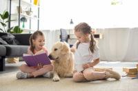 beneficios del vinculo entre los niños y animales de compañia - superfriends