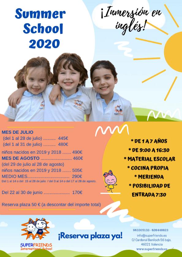 curso de verano 2020 - superfriends
